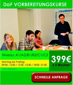 TestDaF Vorbereitungskurse in München