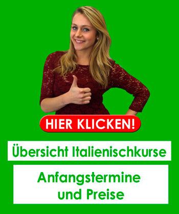 Weitere Kurse: Italienisch lernen in München