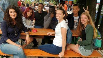 Il Biergarten Monaco di Baviera corsi tedesco