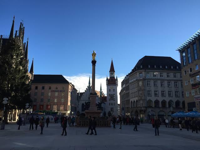 Escuela de alemán en la ciudad de Múnich