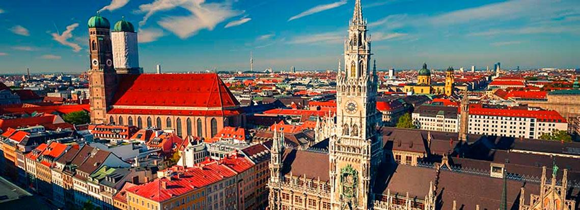 Kurze Informationen der Stadt München