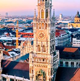 Über München: Sehenswürdigkeiten, Verkehrsnetz, Events, Partys und mehr