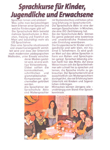 Presse: Bild München, 13.07.2010
