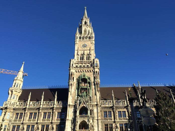 在慕尼黑的德语课程与实习