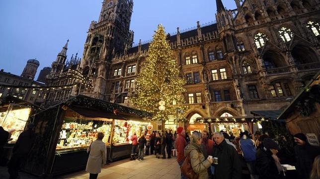 Múnich en invierno: mercados navideños y mucho más…