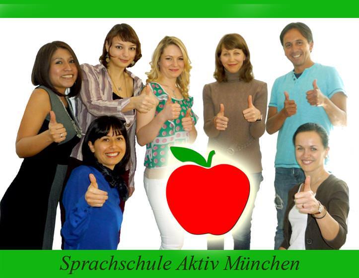 """Nuestros profesores de alemán de la escuela """"Sprachschule Aktiv"""""""