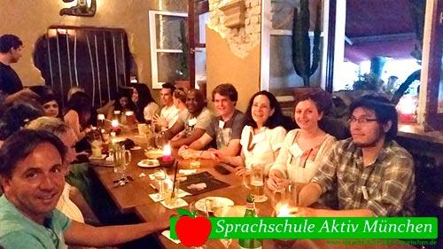 Evento Tertulia Internacional de la escuela de alemán Sprachschule Aktiv