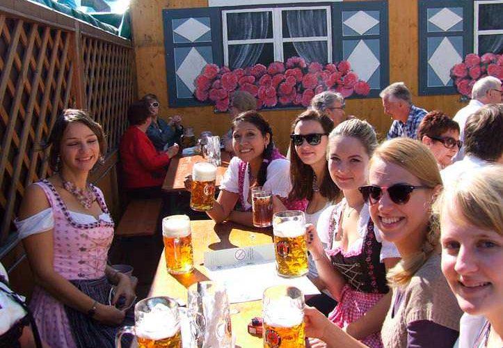 La fiesta de la cerveza en Múnich – El Oktoberfest