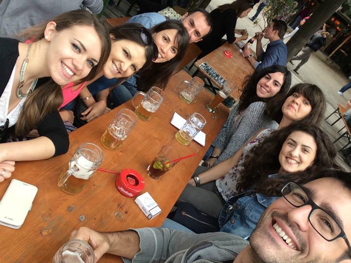 Der Englischer Garten - Deutsch lernen München mit Spaß