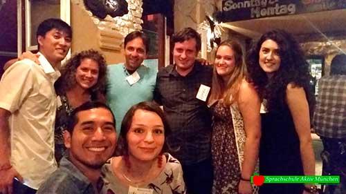 Die Sprachschule Aktiv München bedankt sich für den schönen Abend am 12. Juni 2015