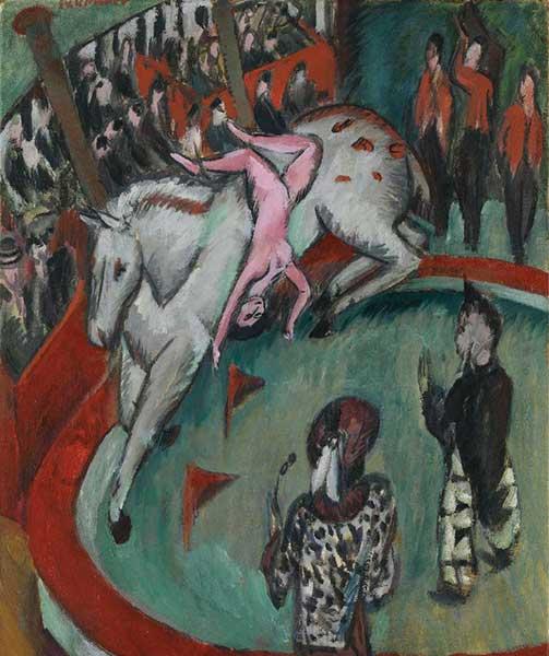 ERNST LUDWIG KIRCHNER Cirkus, 1913