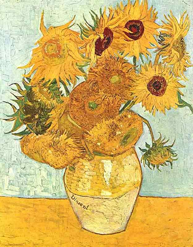 Vicent van Gogh - Sunflowers, 1888