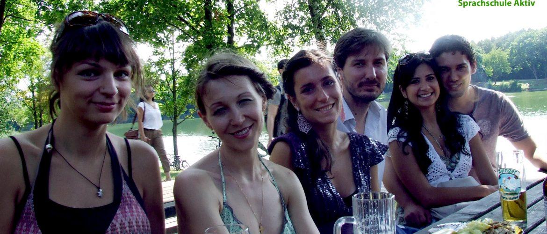 Durant votre temps libre à Munich, visitez l'Englischer Garten !