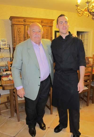 Michel Troisgros und Anthony, Chef bei l´Ecole des Trois Ponts