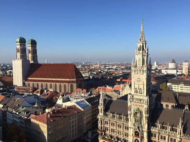 Le marché de gros de Munich