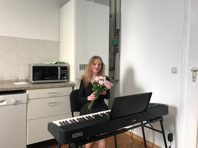 Klavierkonzert in der Sprachschule Aktiv