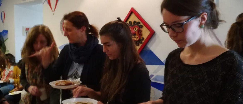 Bayerisches Frühstück bei der Sprachschule Aktiv
