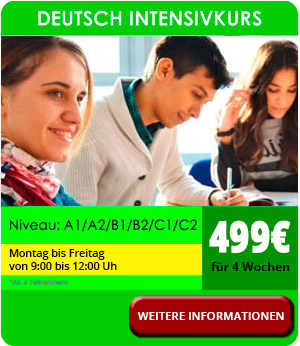 Deutsch Intensivkurs in München