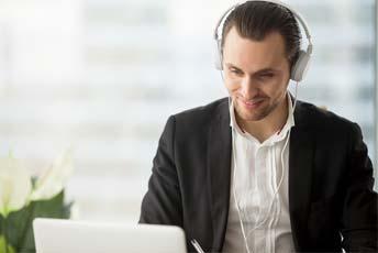 Onlinekurse für Anfänger, Fortgeschrittene, Business-English