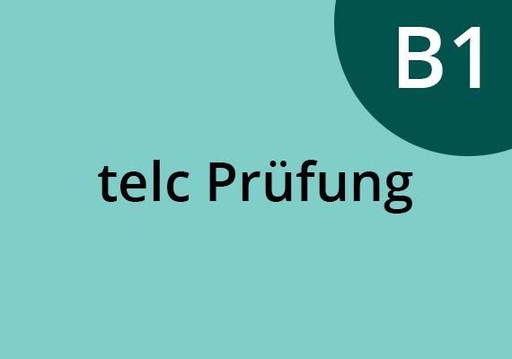 TELC Prüfung B1 in Deutschland. Sprachschule München