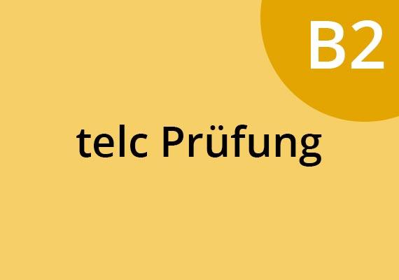 TELC Prüfung B2 in Deutschland. Sprachschule München