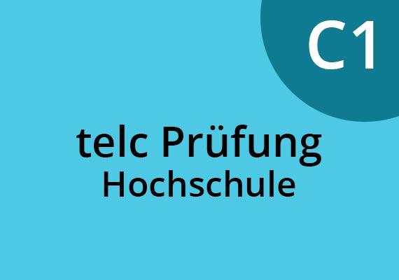 TELC Prüfung Hochschule C1 in Deutschland. Sprachschule München