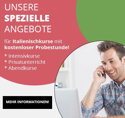 Angebote Italienischkurse in München