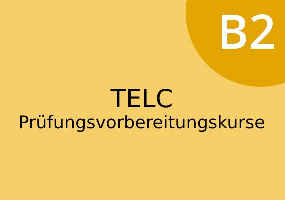 TELC Deutsch B2 Vorbereitungskurse in München