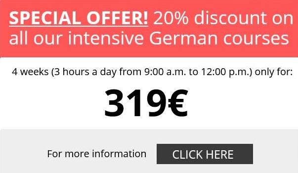Special Offer! Learn German in Munich